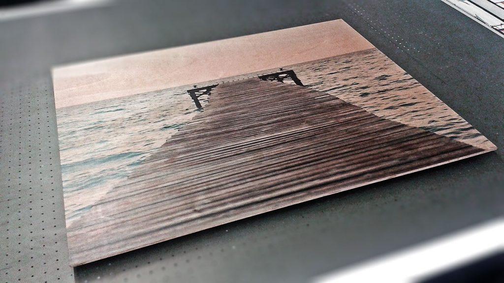 Impresión sobre aluminio