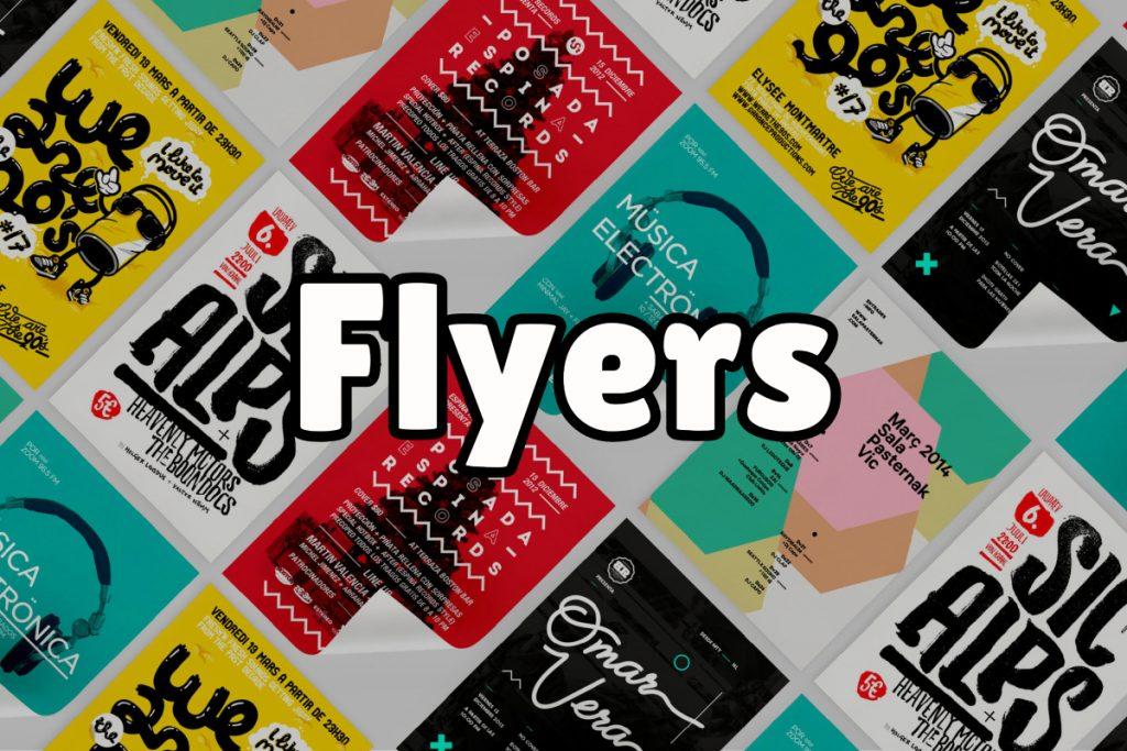 ¿Qué son los flyers?