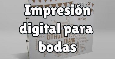 Ventajas de la impresión digital para bodas