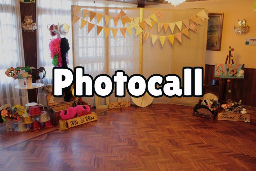¿Qué es un photocall?