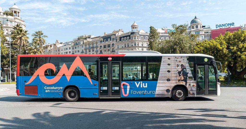 Tipos de publicidad en autobuses