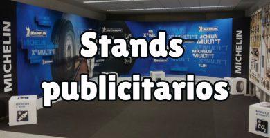 ¿Qué son los stands publicitarios?