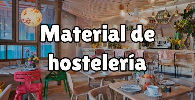 ¿Por qué es necesario el material de hostelería?